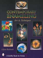 Contemporary Enameling: Art and Techniques enamel book